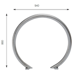 JS2C05 O Ring Bolted
