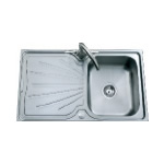 JSS26 Topmount Single Bowl and Drainer