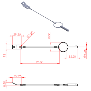 Removable Pin With Ring