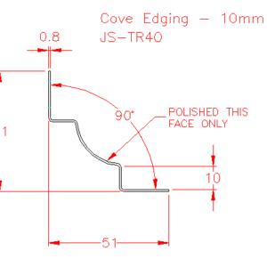 Cove Edging