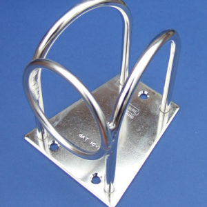 Spinnaker Pole Stowage Bracket with Ring