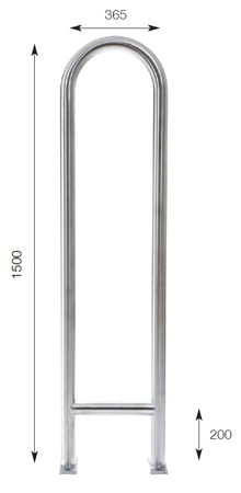 Tall and Narrow Bolted