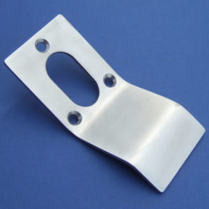 Oval Cut Out Cylinder Door Pull