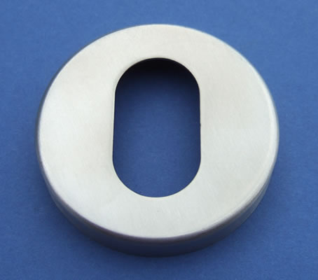 Oval Cut Out Escutcheon