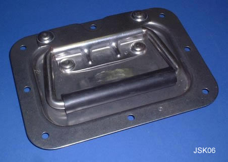 Recessed Plate Handle