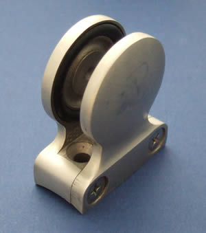 Round-back Button Glass Clamp for 10mm Glass