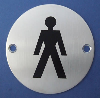 Male Symbol Door Sign