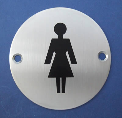 Female Symbol Door Sign