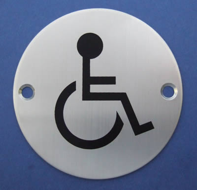 Disabled Symbol Door Sign