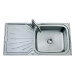 JSS27 Topmount Single Bowl and Drainer