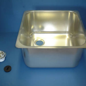 Square Weld In & Undermount Sink