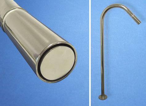 Poolside Spa Shower - Circle Spray Nozzle