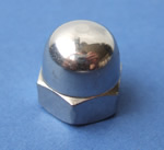 JSGC08 Stainless Steel Dome Nut